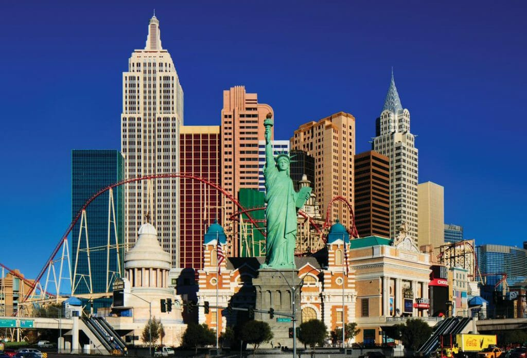 What to do in Las Vegas: New York New York's Big Apple Coaster Suffers Derailment Testing New Cars –  Coaster Nation