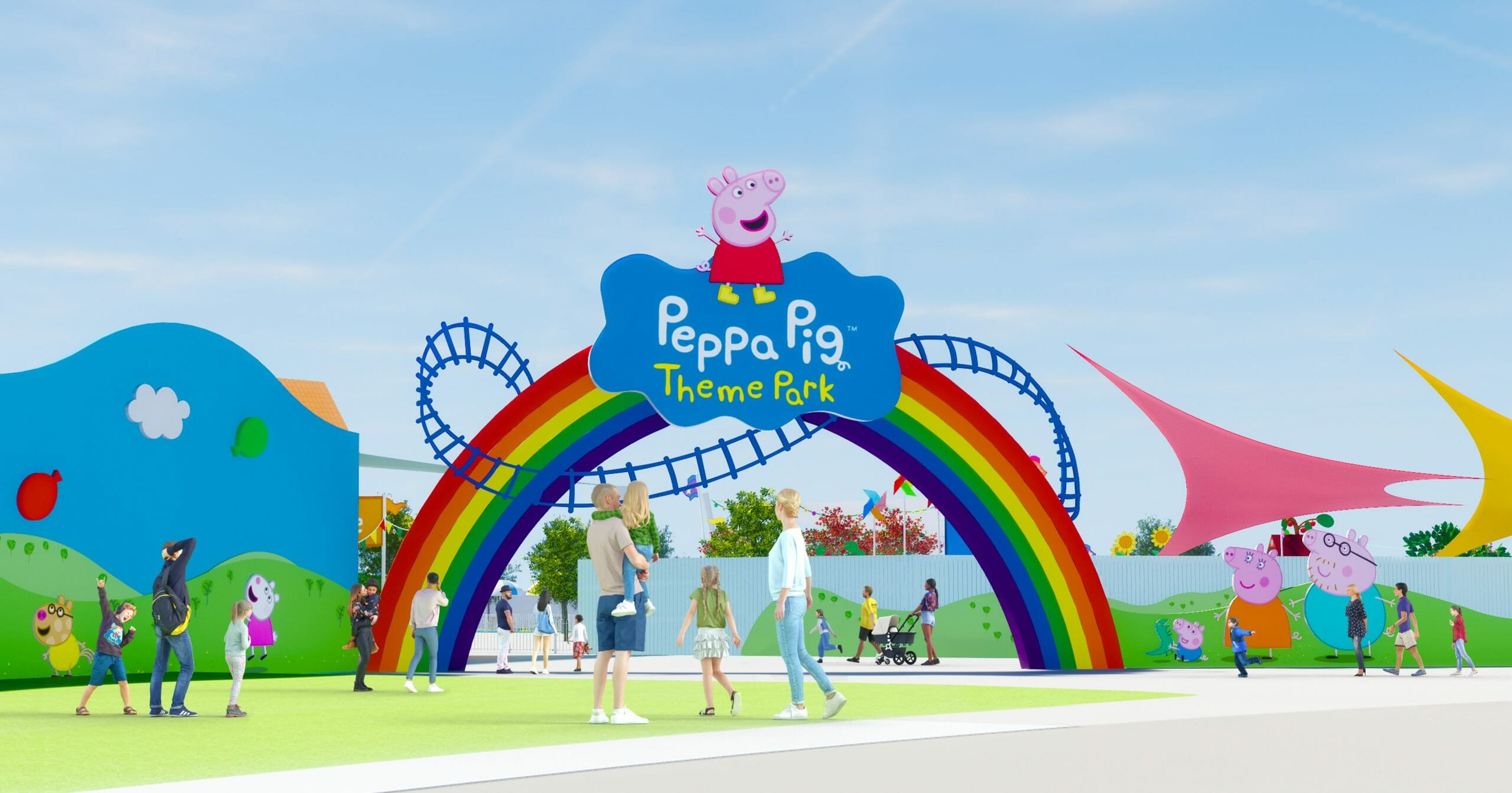 Peppa Pig Theme Park Official Opening Date
