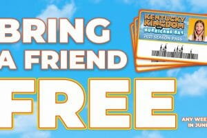 Kentucky Kingdom Offering FREE Ticket For Friends With New Season Pass Purchase