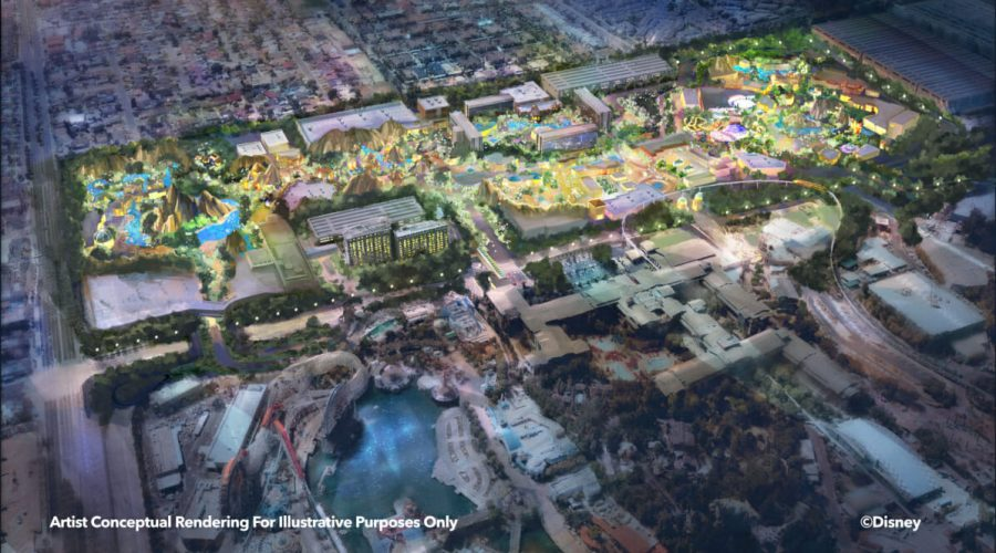 Disneyland Resort Unveils  Plans For Expansion