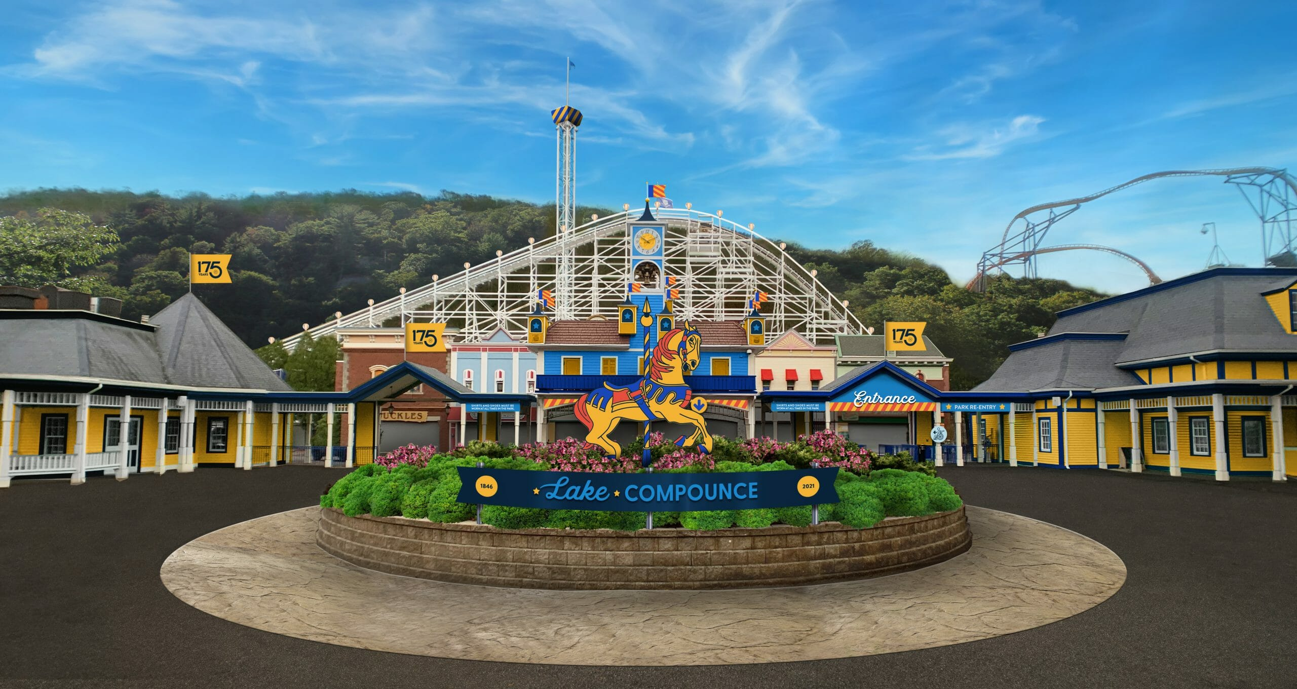 Lake Compounce To Debut Massive Transformation For 175th Anniversary