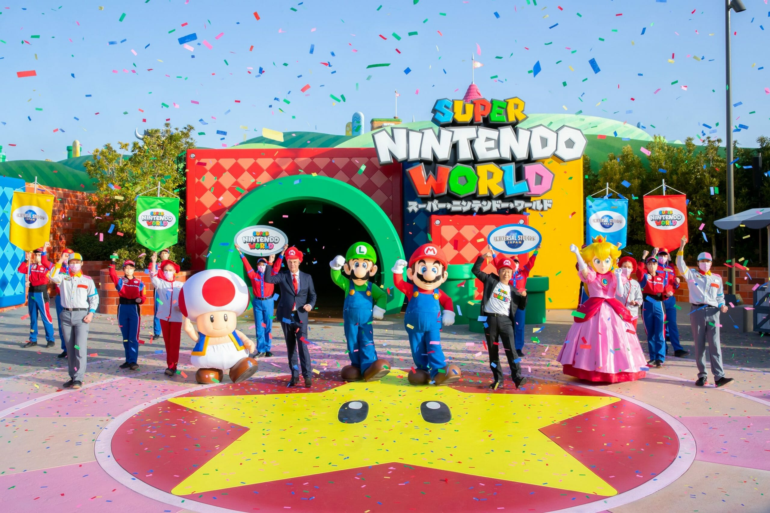 Super Nintendo World Now Open at Universal Studios Japan