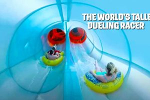 World's Tallest Dueling Racer Set For Debut at Aquatica Orlando