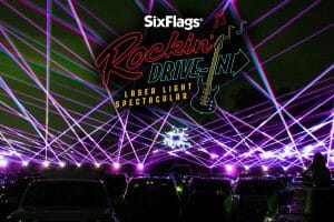Six Flags Great Adventure To Host Drive-In Laser Spectacular