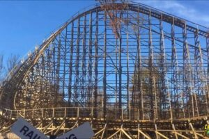 Exclusive Photos, Details, Construction Of Kings Island's Beloved Mystic Timbers