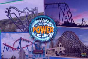 Six Flags Great Adventure To Host 'Coaster Power Hours' Event