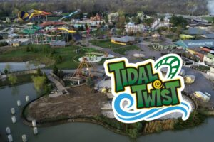 Columbus Zoo Reveals New Tidal Twist Roller Coaster