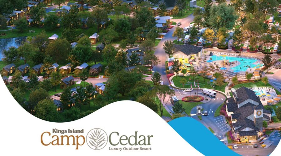 Reservations For Kings Island's New Camp Cedar Luxury Resort Now Available