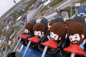 Orion Testing At Kings Island With Bob Ross
