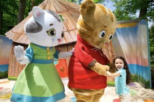 Live Daniel Tiger Shows Return to Idlewild and SoakZone as Operating Hours Expand
