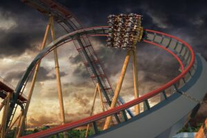Six Flags Fiesta Texas To Debut World's Steepest Dive Coaster