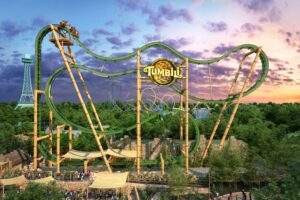 Kings Dominion To Debut New Tumbili Roller Coaster With Jungle X-Pedition Area