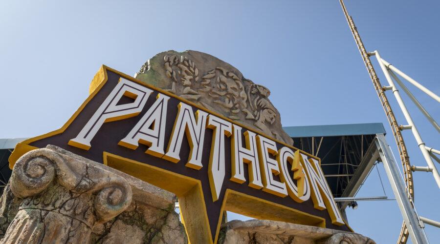 Pantheon Opening March 2022 at Busch Gardens Williamsburg